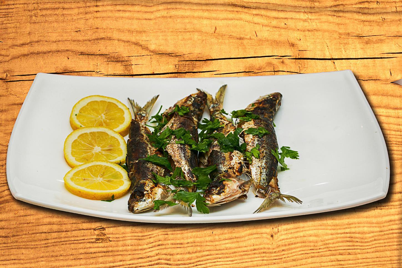 sardine, fotograf produse alimentare