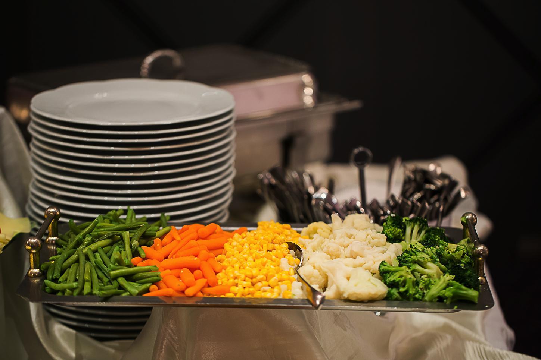 fotograf produse alimentare, legume fierte